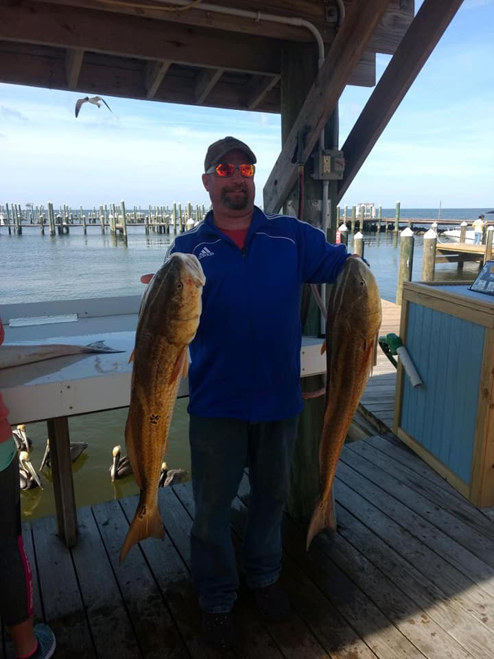They're Back! Redfish In Gulf Shores And Fort Morgan